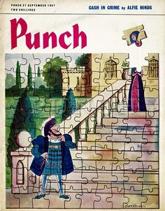 The cover of Punch magazine; King Henry, Henry Viii, Punch Magazine, Lady In Waiting, Tudor History, Anne Boleyn, Childhood Friends, Atheism, The Good Old Days