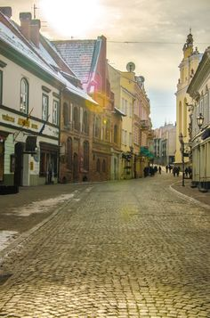 travelingcolors: Vilnius Old Town | Lithuania by Federica...