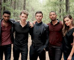 "The Originals Cast on the set 4x04 ""Keepers Of The House"" BTS"
