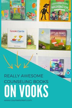 My favorite school counseling bokos on Vooks! These are great books for classroom guidance lessons, books for group counseling, books for school counseling, and great for school counseling activities! These books are easy to share for school counseling distance learning ideas or virtual school counseling lessons. Group Counseling, Counseling Activities, School Counseling, Community Building Activities, Elementary School Counselor, Guidance Lessons, Social Emotional Learning, Teaching Kids, Distance