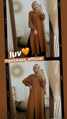 Casual Hijab Outfit, Ootd Hijab, Hijab Chic, Street Hijab Fashion, Ootd Fashion, Fashion Outfits, Kebaya Modern Dress, Hijab Fashion Inspiration, Korean Outfits