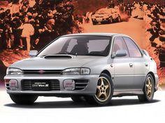 Subaru Impreza WRX STi Ver.II (1995 – 1996).