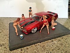 1/24 1/25 or G Scale Resin Model Kit, Sexy action figure Car Wash 5 figures | Toys & Hobbies, Models & Kits, Character Figures | eBay!