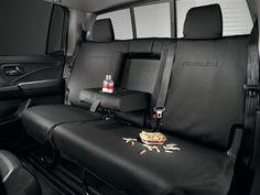 NEW: 2017 Honda Ridgeline Rear Seat Covers #08P32-T6Z-110 at Partscheap.com