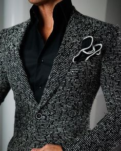 Sebastian Cruz Couture Want to get OFF? Simply add 5 items to your cart. Mens Fashion Blazer, Suit Fashion, Fashion Outfits, Womens Fashion, Der Gentleman, Gentleman Style, Stylish Men, Men Casual, Best Blazer