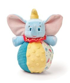 Give your little one a friend who's all ears. This colorful chime ball is just the right size for big fun with Dumbo. The ball rolls, chimes, and delights for any playtime adventure.