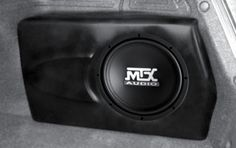 "MTX ThunderForm Hyundai ELANTRA 10"" LOAD- Buy Online in Antigua and Barbuda at Desertcart Elantra Car, Custom Subwoofer Box, Sub Box, Car Mods, Stuff To Buy, Antigua"