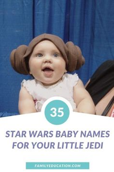 Looking for a fun, Star Wars inspired baby name? Here are 35 of our favorite Star Wars inspired names for boys, girls and gender-neutral options. #babynames #StarWars #genderneutral
