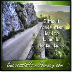 Without difficulty, there would be no challenge, no results. #challenge #journey http://SuccessIsYourJourney.com
