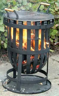Fire Pit Stand, Wood Burning Fire Pit, Log Fires, Youth, Outdoor Decor, Home Decor, Gardens, Fireplace Set, Wood Burning Fireplaces