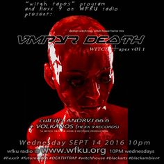 vmpyr death on witch tapes #witchtapes #WFKU #andrvj666