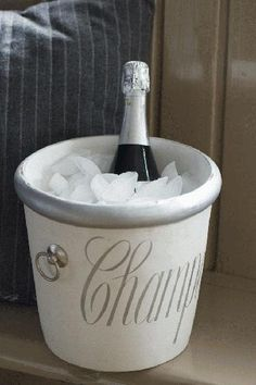 Champagne Cooler Silver