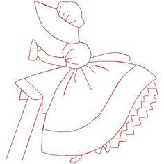 Redwork ironing