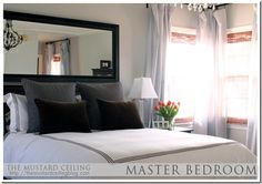 Mirrored Headboards Transitional Bedroom The Cross