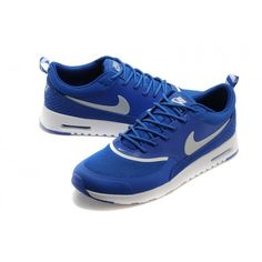 Nike Air Max Thea Print Sapphire Blue / Silver / White Mens For Black  Friday Outlet Sale