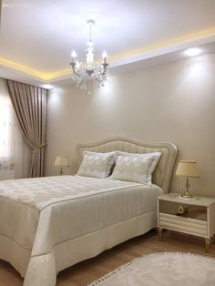 Every detail of this eye-catching Izmir house betrays perfectionist hosts. Bedroom Bed Design, Modern Bedroom Decor, Minimalist Bedroom, Luxurious Bedrooms, Furniture Design, Interior Design, Paint Ideas, Interior Inspiration, Decor Ideas