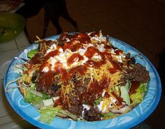 """Clean Taco Salad-- This website is chunked full of all kinds of """"healthy"""" recipes.  I just chose this one because I like taco salad."""