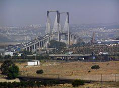 """Puente del V Centenario, o """"el puente del Paquito""""."""