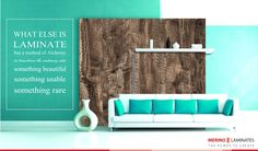 Ever wondered what would be the mix of sea green and oak wood brown color called: It is called Magic!