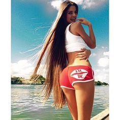Instagram media by lhdcclothing - This girl is just simply amazing! @volkosh With incredibly beautiful long hair!