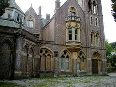 Hafodunos Hall is a Gothic revival house located near the village of Llangernyw in Wales.