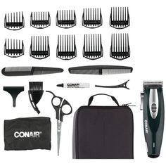 CONAIR HC1100R 20-Piece Li-Ion Haircut Kit