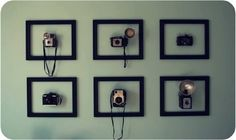 Display your old cameras