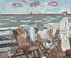 Armand Vanderlick (1897-1985)  On the pier, 1943