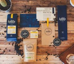Wells Coffee Packaging Design   Abduzeedo Design Inspiration