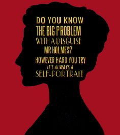 And also, I caught the reference to the original Arthur Conan Doyle Adventures of Sherlock Holmes reference. Sherlock Holmes Quotes, Sherlock Holmes Bbc, Sherlock Fandom, Watson Sherlock, Jim Moriarty, Sherlock John, Irene Adler, Martin Freeman, Benedict Cumberbatch