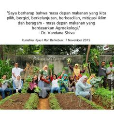 Mari menumbuhkan secara alami makanan kita sendiri