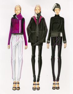 (••)                                                                   T by Alexander Wang Fall 2014 Illustrated by Paul Keng