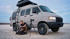 16 months, 60,000 miles in one 1994 Dodge Ram van.