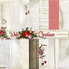 A lovely Christmas themed scrapbook collection from Raspberry Road.
