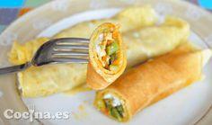 Pocos rellenos para crepes salados me han gustado tanto como el de estos crepes de espárragos trigueros y queso fundido. Ni los crepes de salmón les superan, en mi opinión, siendo el mérito tanto de las propias tortitas caseras -elásticas y con su sabor suave característico-, como de la acertada …