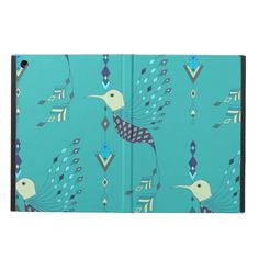 Vintage ethnic tribal aztec bird cover for iPad air