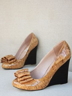 For Mom - Lou Wedge Sandal by Joyfolie at Gilt.  Love these too.