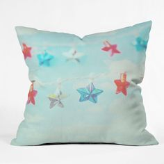Lisa Argyropoulos Oh My Stars Throw Pillow