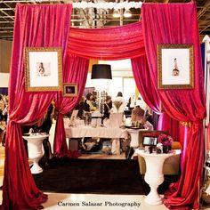 Studio B Event Designs: Designer Bridal Show Booths