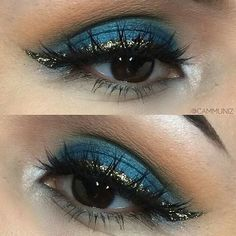 Gorgeous blue look