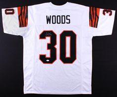 be349716e Ickey Woods Signed Cincinnati Bengals Jersey (JSA) – Miller Memorabilia