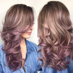 Ombré hair sur cheveux mi-longs : 33 photos absolument hallucinantes - Coupe de cheveux