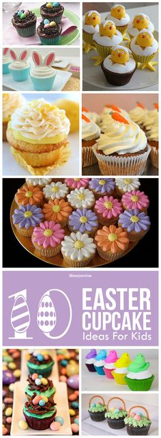 10 Delicious Easter Cupcake Ideas For Kids: Let's look at 10 of the most amazing Easter cupcake recipes for your kids.