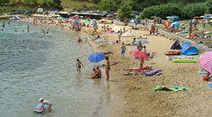 "Képtalálat a következőre: ""risika strand"" Strand Camping, Hotels, Dolores Park, Island, Travel, Map Pictures, Blue Flag, Viajes"