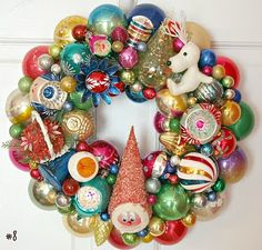 Vintage Ornament Wreath Inspirational