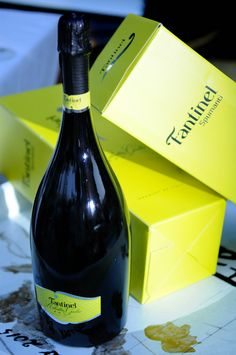 A #great #gift #idea for a #dinner at #friends' #home #Fantinel #RibollaGialla #Brut  #Cheers #LifeIsGood #ToastToTheGoodLife #WineTime #Enjoy #Share #Wine #SparklingWine #Bubbles #FriuliVeneziaGiulia #Fvg #Italy #ItalianLifeStyle