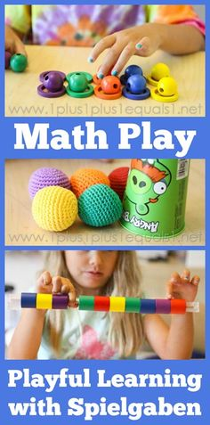 Math Play with Spielgaben ~ with videos!