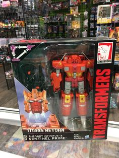 Transformers Titans Return Sentinel Prime