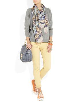J.CREW  Isabel knitted cashmere sweatshirt