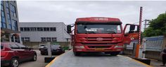 The weighbridge has less strain inside and transduces stress more even, and get longer metal fatigue period. buy weighbridge in our website